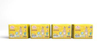 China supplier good quality disposable baby diapers pants in bulk